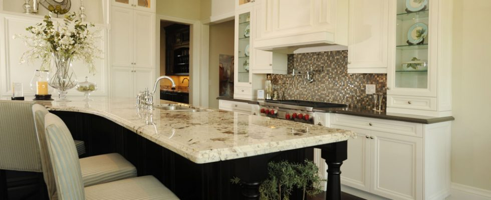 Bramalea Tile Marble Countertop and Tile Backsplash